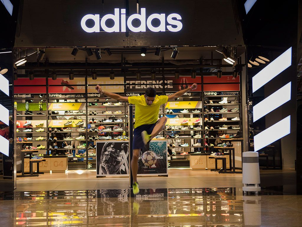Official adidas Store Opening Activation