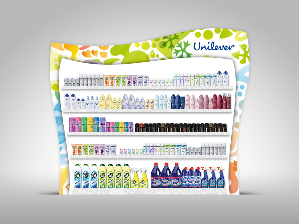 Unilever Product Stand