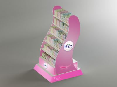 Veet Product Stand